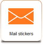Mail stickers